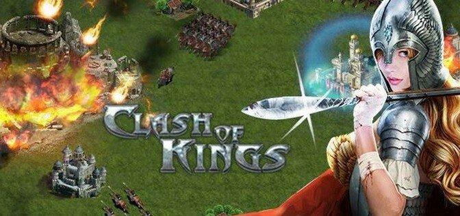 Clash of Kings  мод версии 1.0.84 на деньги  и золото