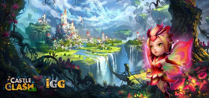 Взлом Битва Замков: Новая Эра (Castle Clash: Age of Legends) для Андроид