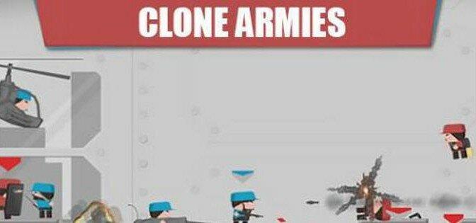 Скачать взломанный Clone Armies на Андроид или IOS