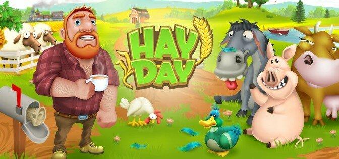 Скачать взломанную игру Hay Day + мод на бесплатные алмазы для Андроид